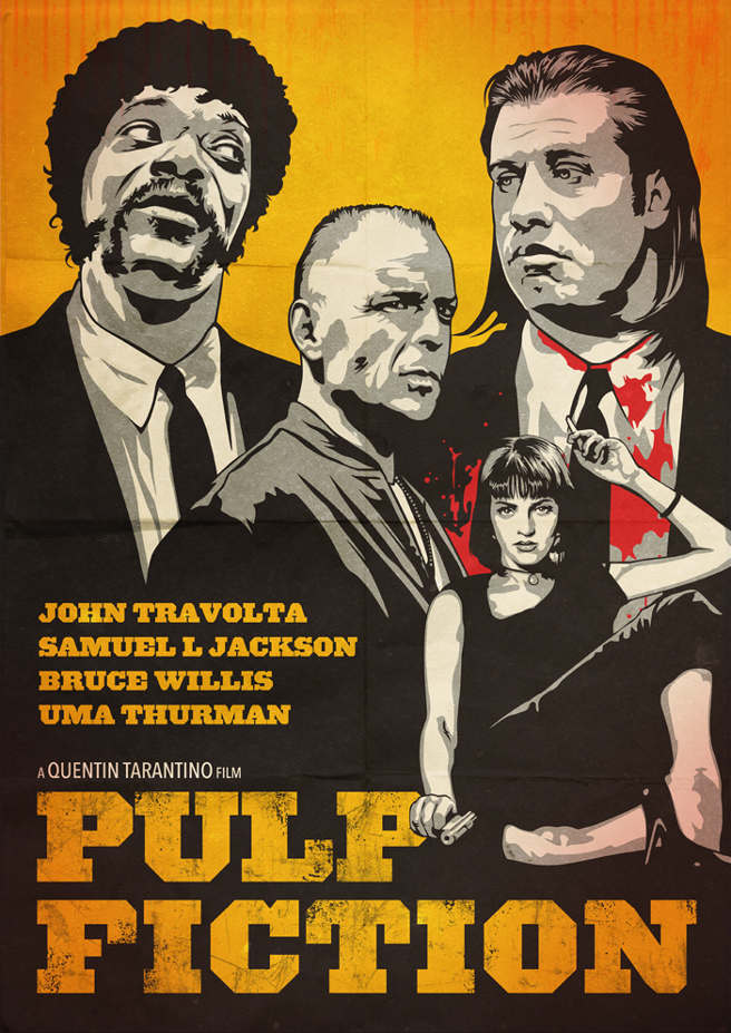 an analysis of the characters and themes in the pulp fiction story Learning effective characterization for literary fiction is essential for great stories:–imagined characters created to reveal theme and meaning, and that drive plot action in some way and are not simply bystanders to fatalism.